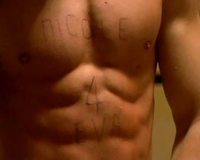 "Mark Wahlberg's chest in the movie ""FEAR""...nicole  4 eva.. classic"