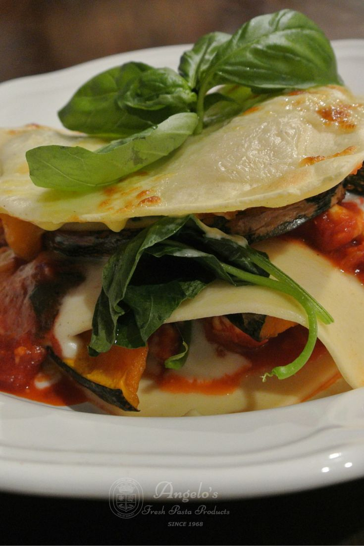 A little different to the traditional Italian Lasagna recipe, this chicken, pumpkin and spinach is great alternative. Angelo's Pasta feature foodie Wendy from Little Apple Mint created this meal which the whole family will love.