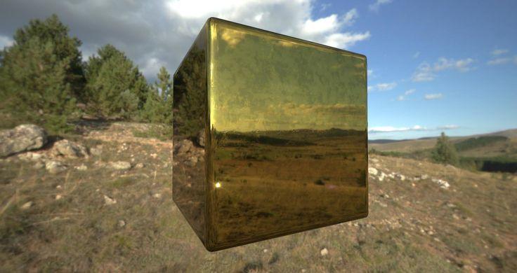 Substance Designer Gold texture, inho kim on ArtStation at https://www.artstation.com/artwork/substance-designer-gold-texture