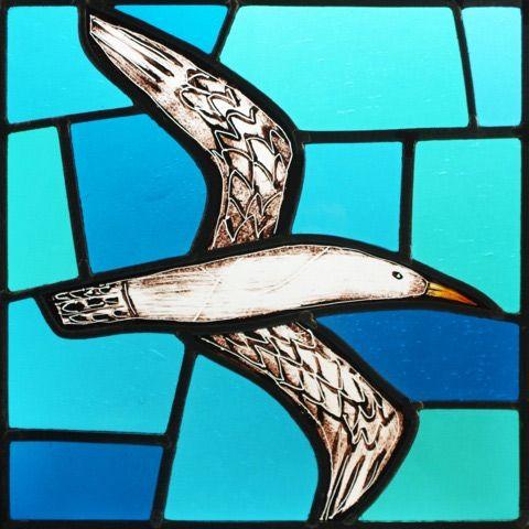 'Soaring gulls (i)' by Stuart Low