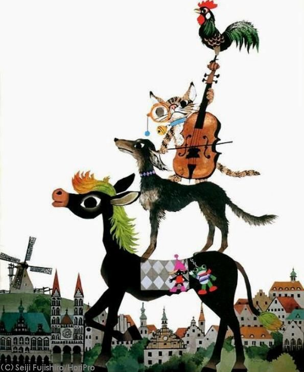 ブレーメンの音楽馬