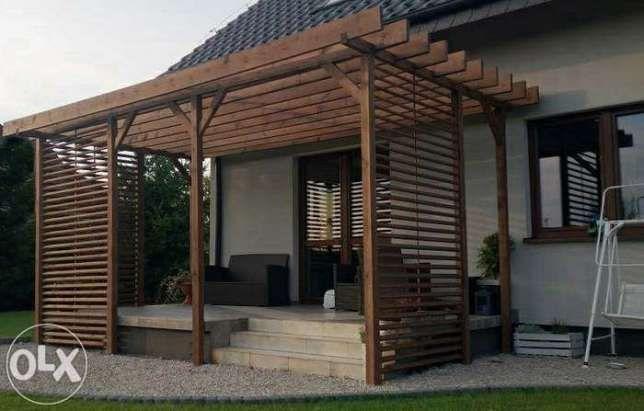 pergola taras altana domek drewutnia zadaszenie patio Mstów - image 2