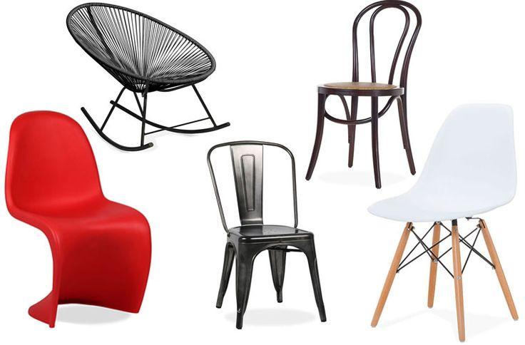 Las 12 sillas de diseño más icónicas a buen precio en SuperStudio   Mil Ideas de Decoración