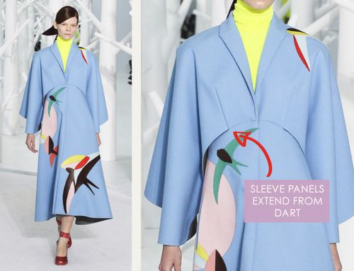 Pattern Cutting Details from Delpozo (via Bloglovin.com )