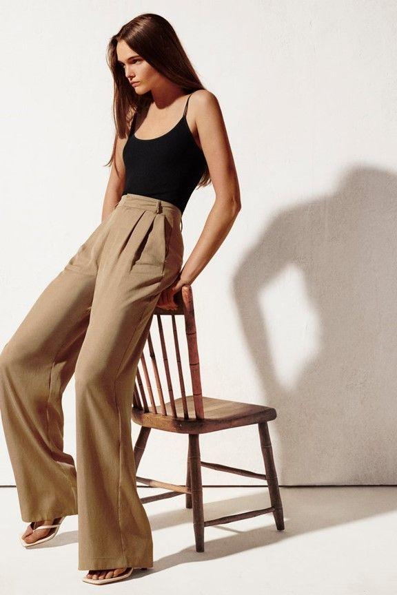 Tendencias Otono Invierno 2020 2021 Jenny Leal Tendencias Ropa Pantalones Anchos De Vestir Tendencias De La Moda De Verano