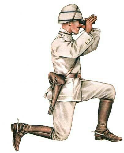 Gallipoli 1915 - Ottoman Army - artillery officer, pin by Paolo Marzioli