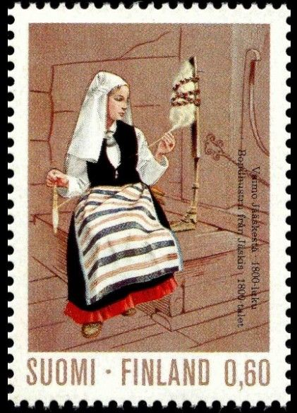 Finnish postage stamp design