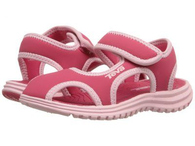 Teva Kids - Tidepool CT (Toddler) (Paradise Pink/Almond Blossom) Girls Shoes