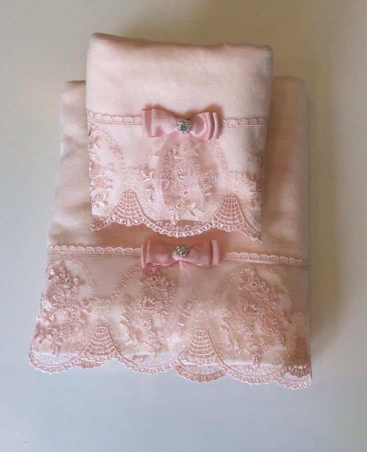 towel lace .dantel .havlu