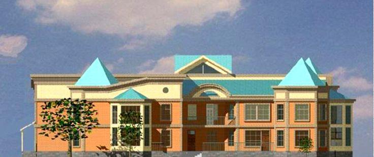 Строительная компания ШпарСтрой | Проект детского сада на 160 мест