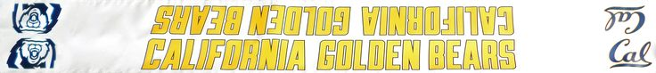 California Golden Bears Volleyball - Custom Top Net Tape
