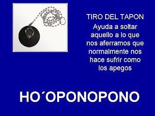 TIRO DEL TAPON - HOOPONOPONO EL PODER DEL AMOR