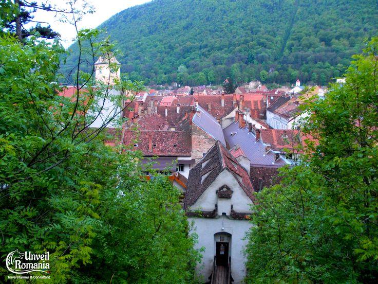 Medieval Brasov - view over the Graft Bastion #Transylvania #visit #Romania #Brasov #tourism #daytrip #guidedtour