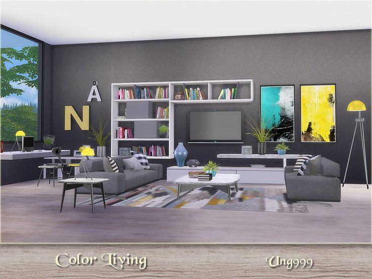 131 besten S4 / Salon Bilder auf Pinterest | Sims 4, Wohnzimmer ...