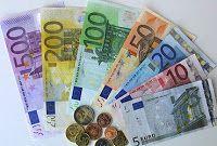 *MIS COSAS DE MAESTRA*: FICHAS PARA TRABAJAR LOS EUROS (Billetes y monedas)