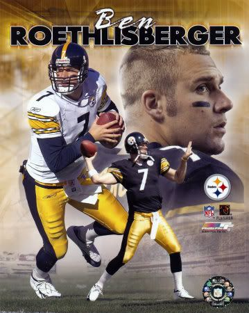Benjamin Todd Roethlisberger, Sr., also known as Big Ben, was the 11th overall draft pick in the 1st round of the 2004 NFL Draft by the Pittsburgh Steelers as a quarterback. The 32-year-old started...