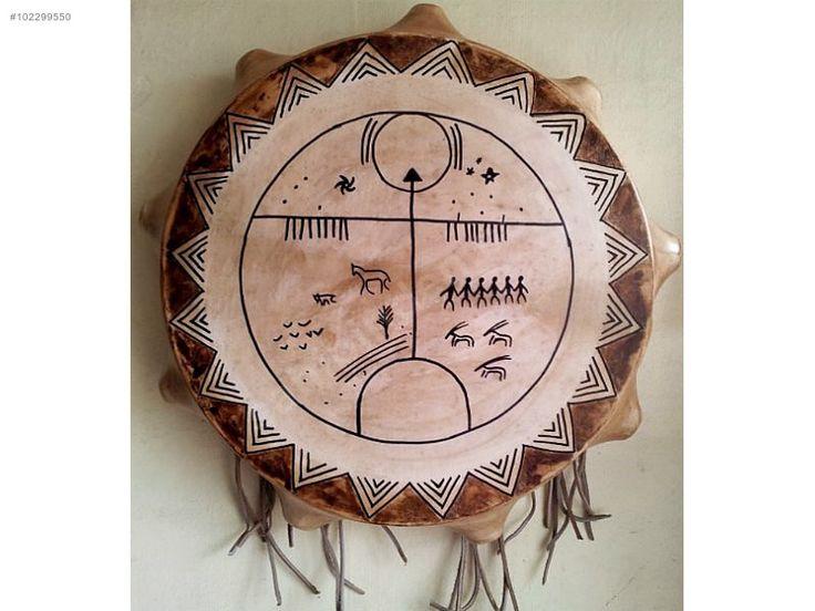 Shaman Drum Kam Davul Turkic