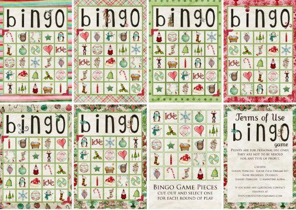 free printable christmas bingo  kids' activity?