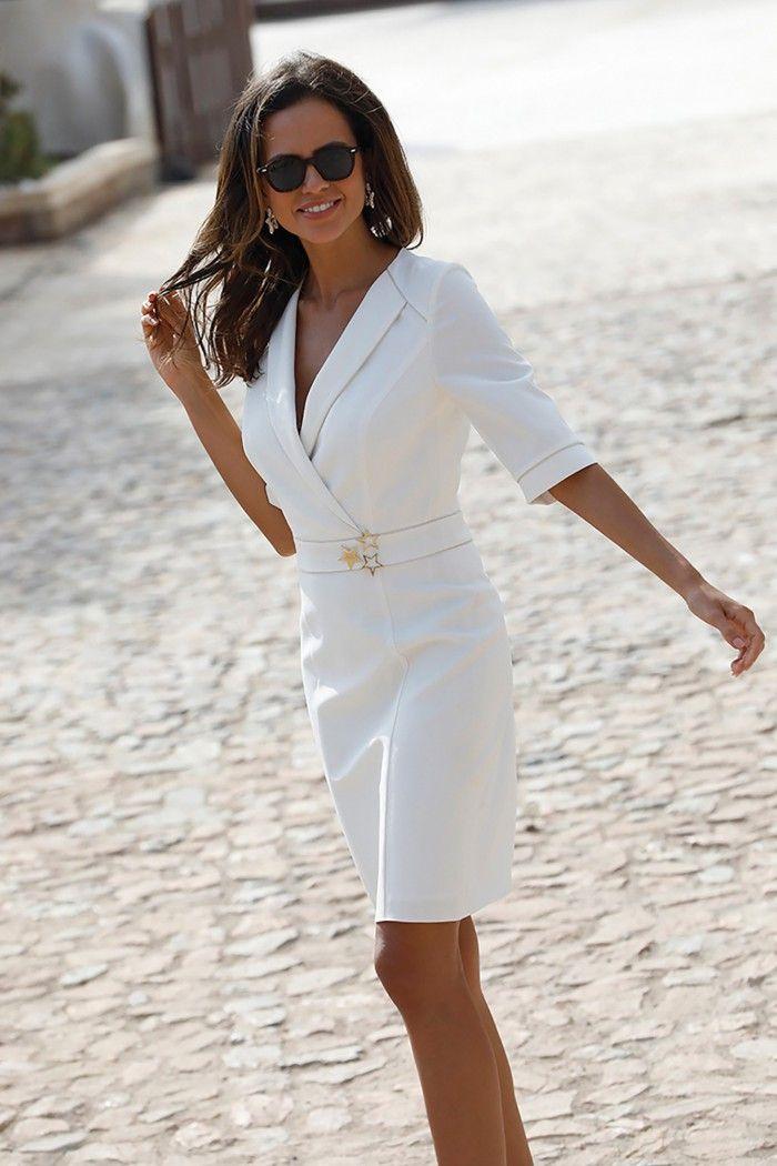 Summer 2020 Linea Raffaelli Chique Outfit Chique Jurk Mode Stijl