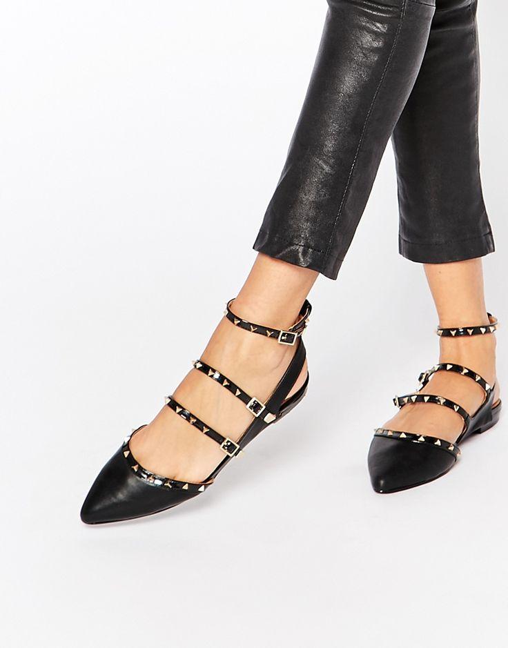 €70 Immagine 1 di ALDO - Zerah - Scarpe nere piatte con borchie
