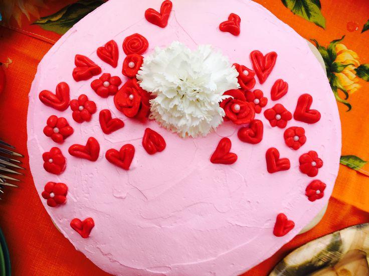 Joghurt Himbeere Torte