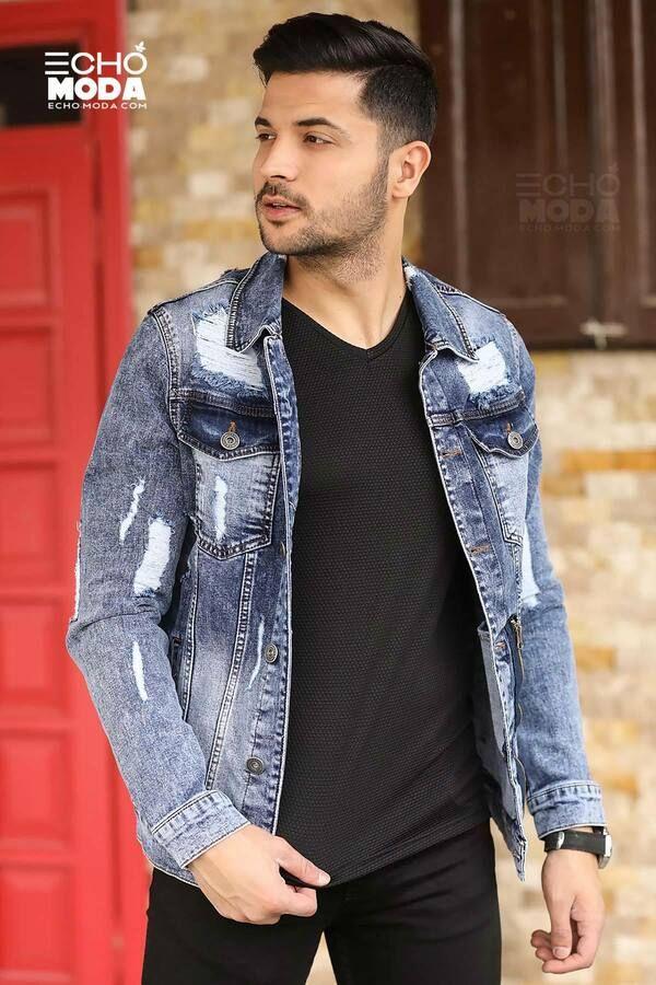 للبيع 15 جاكيت جينز دينيم شبابي كاجوال تركي 2021 Denim Jacket Men Jackets Mens Jackets