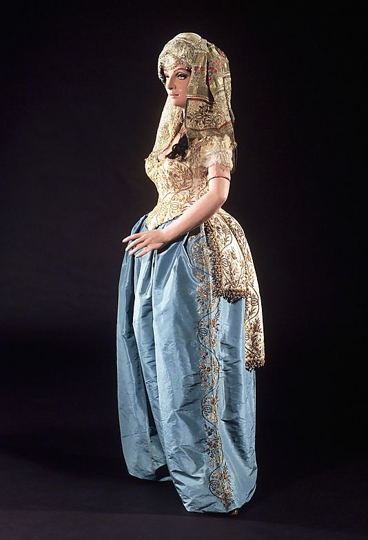 Worth Costume (Fancy Dress-Turkish style), 1879, shows us another example of orientalism at the time, Met
