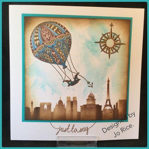 JR Crafts: Filigraphy Hot Air Balloons.