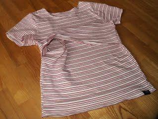 Tričko na dojčenie - Látkovky
