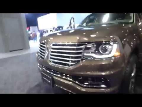 LINCOLN NAVIGATOR 2018 WASHINGTON DC AUTO SHOW 2017