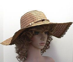 SUMMER FLOPPY FASHION HAT Capture a casual look with these summer fashion hats in earth tone colors with a 5-inch floppy brim that helps protect from the sun.  http://www.awnol.com/store/Hats/Wholesale-Fashion-Hats