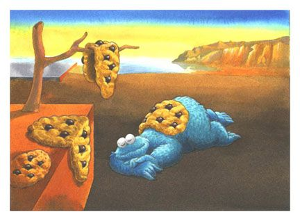 14 best images about Art Parody: The Persistence of Memory on ...