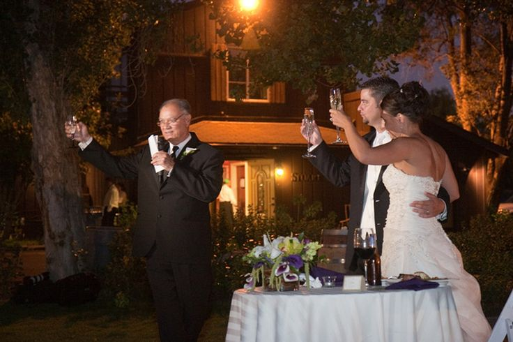 how to end toast to the bride
