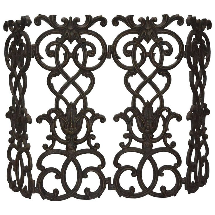 Victorian Cast Iron Fireplace Screen   From a unique collection of antique and modern fireplace tools and chimney pots at https://www.1stdibs.com/furniture/building-garden/fireplace-tools-chimney-pots/