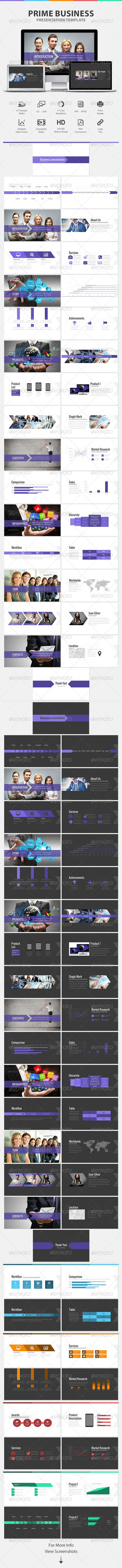 Prime Business Presentation Powerpoint Template (Powerpoint Templates)