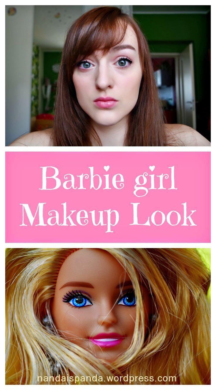 makeup, makeup look, makeup tutorial, makeup challenge, cosmetics, barbie, barbie girl, inspired, inspiration, budget, affordable, pink, beauty, makeup idea