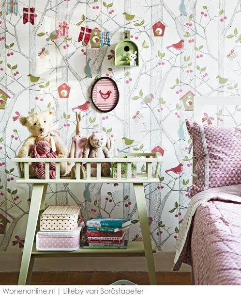 cool kinderkamer behang! Lilleby, Boråstapeter's behangcollectie voor kinderen, laat een speels en fantasierijk aanbod zien in eindeloze variaties.