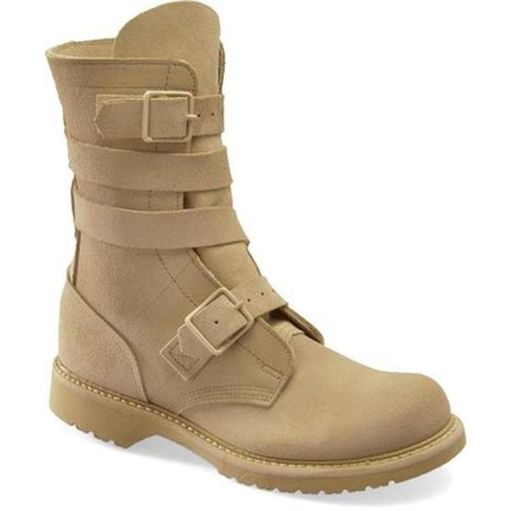 Size: 6. Corcoran 10 in Desert Tan Tanker Combat Boots - Made In USA 4407