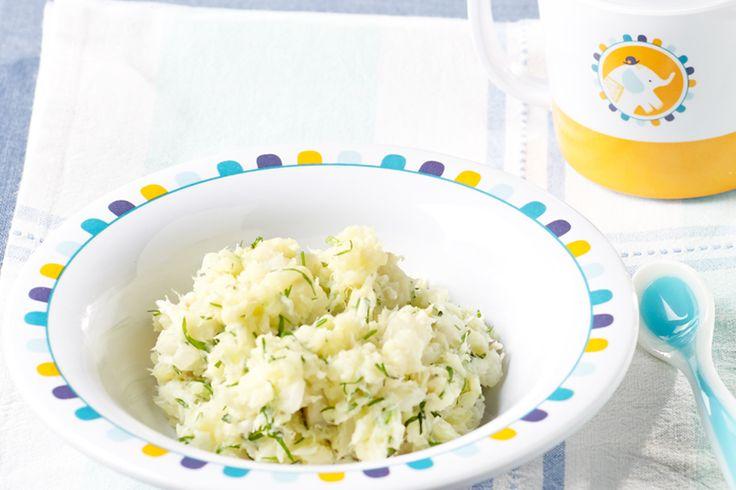 Kabeljauw en venkel, een perfecte combinatie! Ze vormen een ideaal paar op je bord. Lekker met een puree van aardappelen, dille en peterselie. Lekker, evenwichtig en ook geschikt voor een baby vanaf 6 maanden.