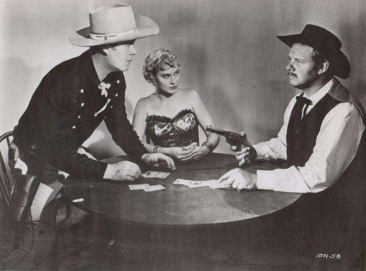 Wayne Morris, Lola Albright and Alan Hale Jr., Sierra Passage (1950)