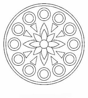 mandala - would be a good pattern for an embroidered/beaded felt ornament