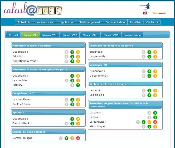 Un site propos par l 39 acad mie de lille qui propose des exercices math matiques en ligne pour - A portee de maths cm2 en ligne ...