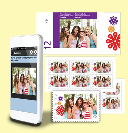 It only takes a few minutes to turn a vacation photo into your own custom stamps. What better way to honour an amazing summer trip with your girlfriends!