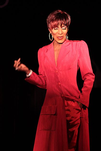 The Lady Chablis   Saw her amazing performance, she is the real deal and such a Lady.