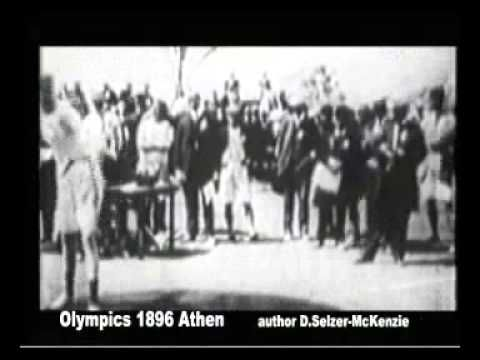 Erste Olympiade 1896 in Athen