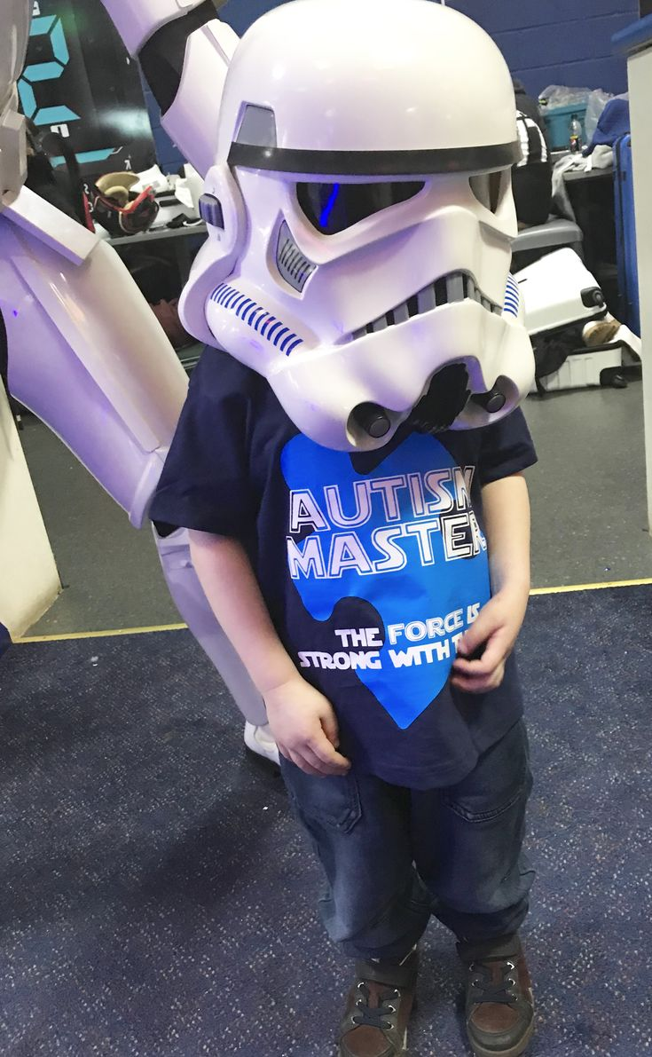 Well yesterday was an amazing day and still brings a tear to my eye when I look at the photos. J got to meet his heroes at Planet Laser's Star Wars day... 💫   #autism #starwars #suffolk  https://mummyest2014.wordpress.com/2018/02/04/my-son-has-turned-to-the-dark-side-and-ive-never-been-happier/