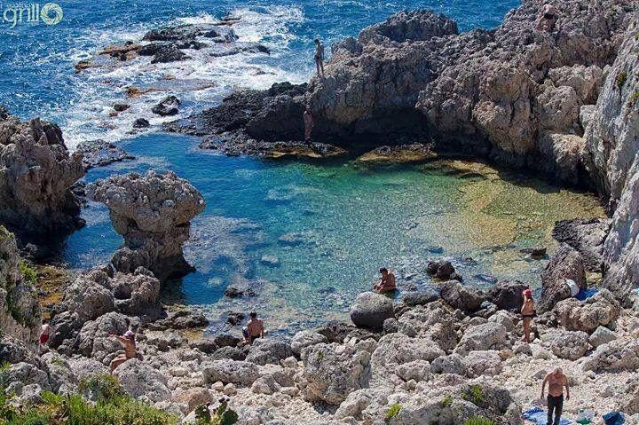 Piscina di Venere, Capo Milazzo Sicily Sicilia, Luoghi