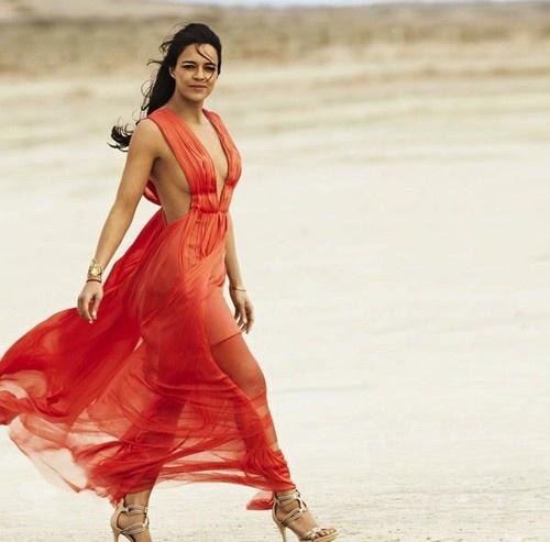 Michelle Rodriguez in Cosmopolitan for Latinas Magazine, Summer 2013 Issue
