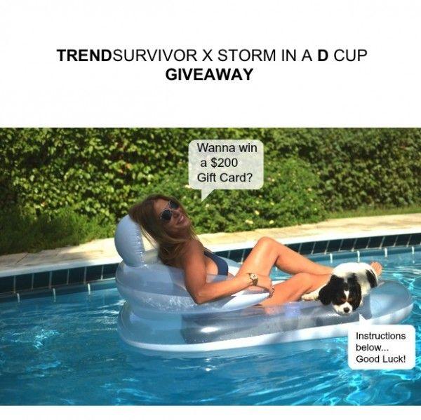 Trend Survivor X Storm in a D cup | Swimwear $200 Gift Card Giveaway - TrendSurvivor #giveaway