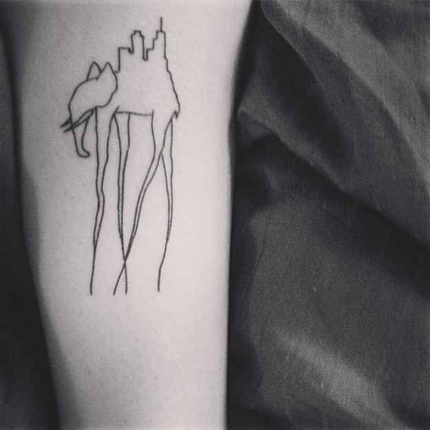 19 Tatuajes que volverán locos a los amantes de la Historia del Arte